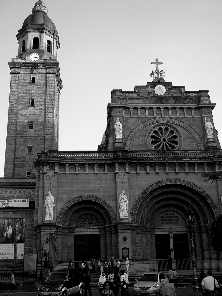 Manila Cathedral - The Cathedral-Basilica of the Immaculate Conception
