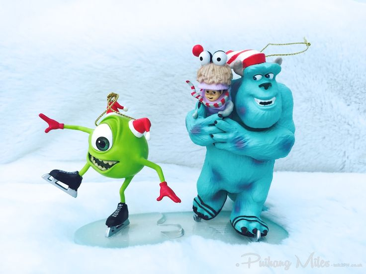 Mike, Boo & Sully from Monsters Inc