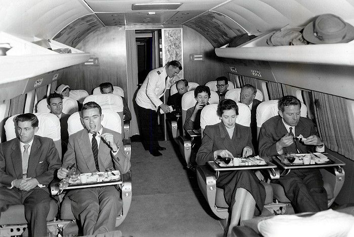 From The Archives Bob Buck Flies A Connie From La To