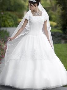 Modest dress, just make it a little more poofy ;D