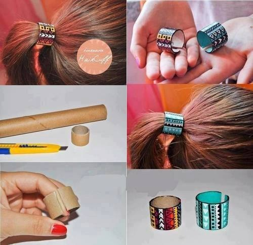 Best Hair Accessories Images On Pinterest Crowns Crafts And - Ponytail cuff diy