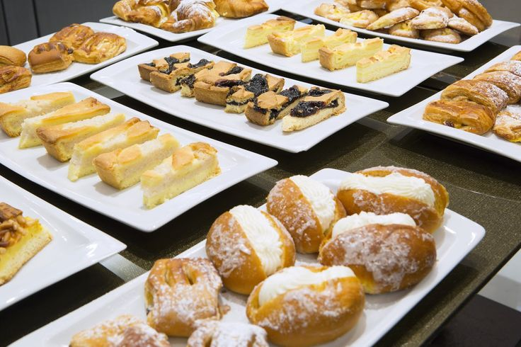 Continental Breackfast, rich and tasty. DAILY HOMEMADE PASTRIES for Breakfast at Artemide Hotel - Rome