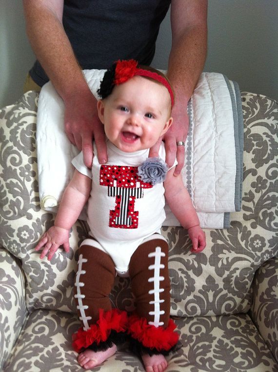 Texas Tech Onesie by RKsCloset on Etsy, $18.00. I love with this!!...my niece will be needing this when she arrives :)