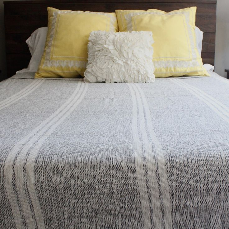 LILIAM - Queen Blanket  $300.00  Naturally dyed and handwoven. Living Threads Co. livingthreadsco.com