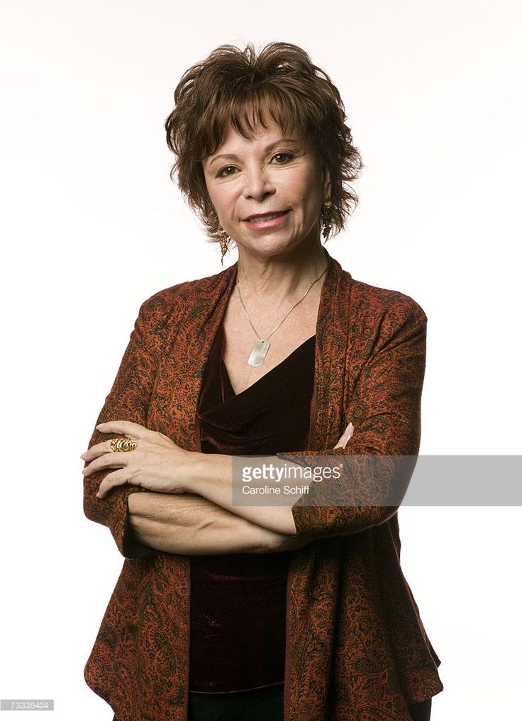 Acclaimed author Isabel Allende ('House of the Spirits', 'Eva Luna') in a promotional portrait for the Search for the Cause campaign, which raises funds for cancer research. She wears a Search for the Cause dogtag. (Photo: Caroline Schiff/Getty Images) Isabel Allende