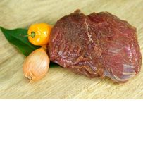 Emu Steak 6 oz. portion (Emu meat is said to taste very much like red meat!)