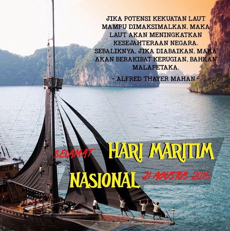 Selamat Hari Maritim Nasional! #Indonesia #RI70