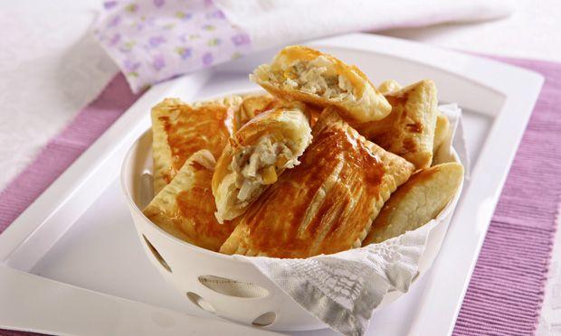 Receita de Pastel de Forno com Frango - As mais deliciosas Receitas de Frango