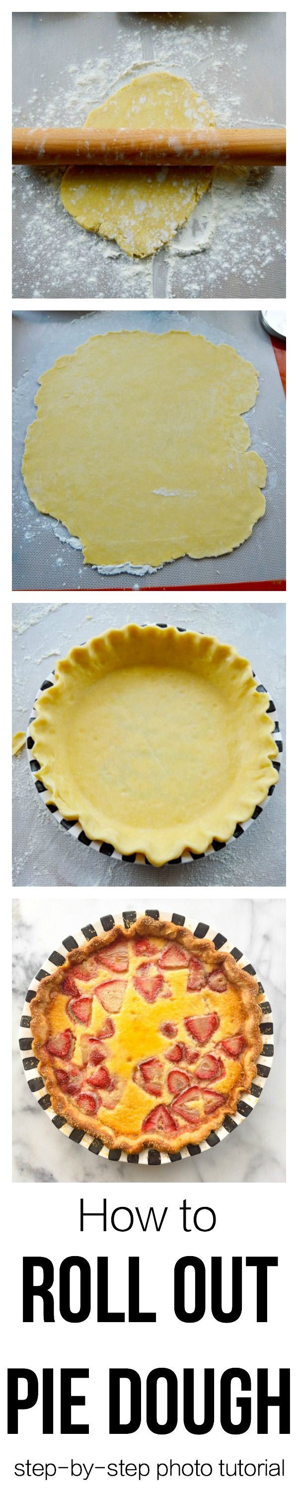 Learn the best tricks and tips for rolling out pie dough.  With this advice, you will never be tempted to buy pie dough at the store again. Complete with a recipe for the best ALL BUTTER PIE CRUST. This tutorial with step-by-step photos will walk you through every aspect of making pie dough and rolling it out.