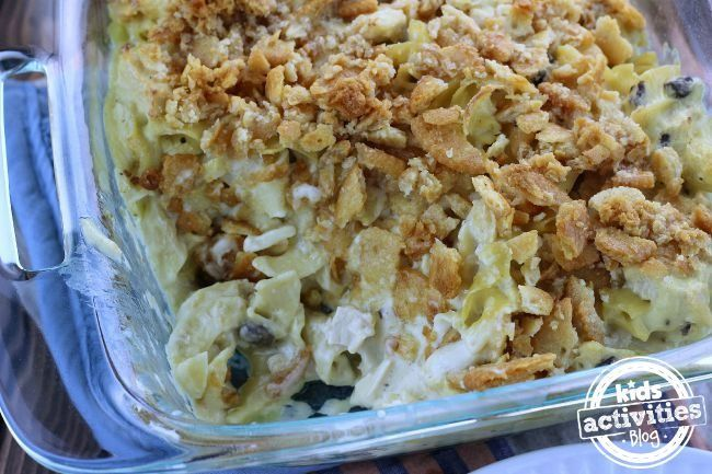 There is no better comfort food than chicken noodle soup right? So why not create a family dinner that combines your favorite comfort food with the ease of a casserole. This Chicken Noodle Casserole recipe has become my family's new favorite dish and you will love it too!