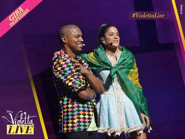 Violetta live in brazil