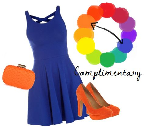 Complementary Color Scheme Clothing Secondary colors. they are orange, green, and purple. simple right