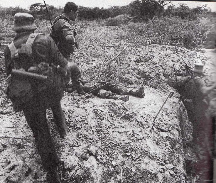Trench clearing somewhere in Angola - still makes my hair stand on end