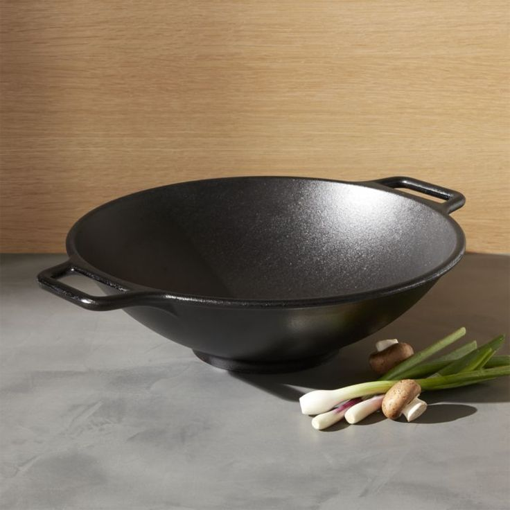Free Shipping.  Shop Lodge Cast Iron Wok.  Grandma was on to something with the timeless cast iron skillet, preferred by many chefs.  Ready-to-use pre-seasoned wok gives that homespun cast iron appeal and solid performance.