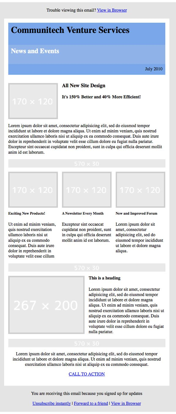 HTML emails are a great way to keep clients posted on the latest updates related to your business or product, but they're a bit tricky. CSS support in email clients is inconsistent. As a result, we must resort to ancient techniques, such as using tables, and inline CSS. Today, I'm going to walk you through the process of creating simple HTML emails. | Difficulty: Intermediate; Length: Long; Tags: HTML & CSS, Web Development, HTML, Email