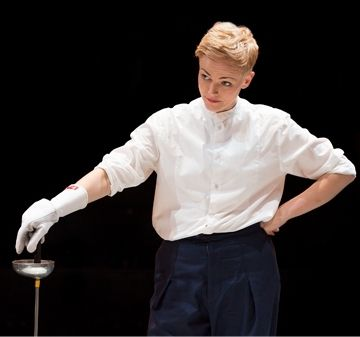 Hamlet starring Maxine Peake. Even more outstanding than I expected.