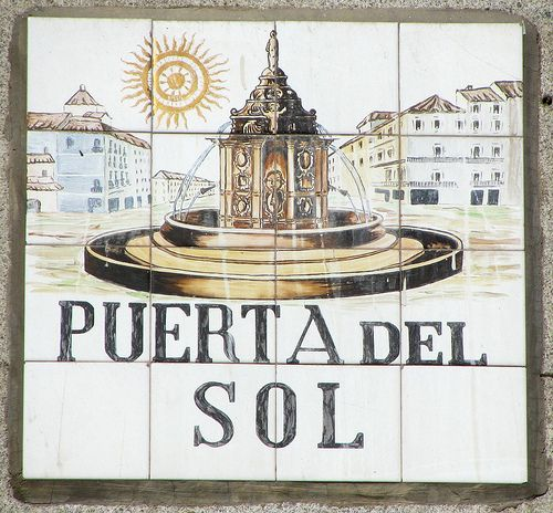 17 best images about puerta del sol madrid spain on for Comer puerta del sol