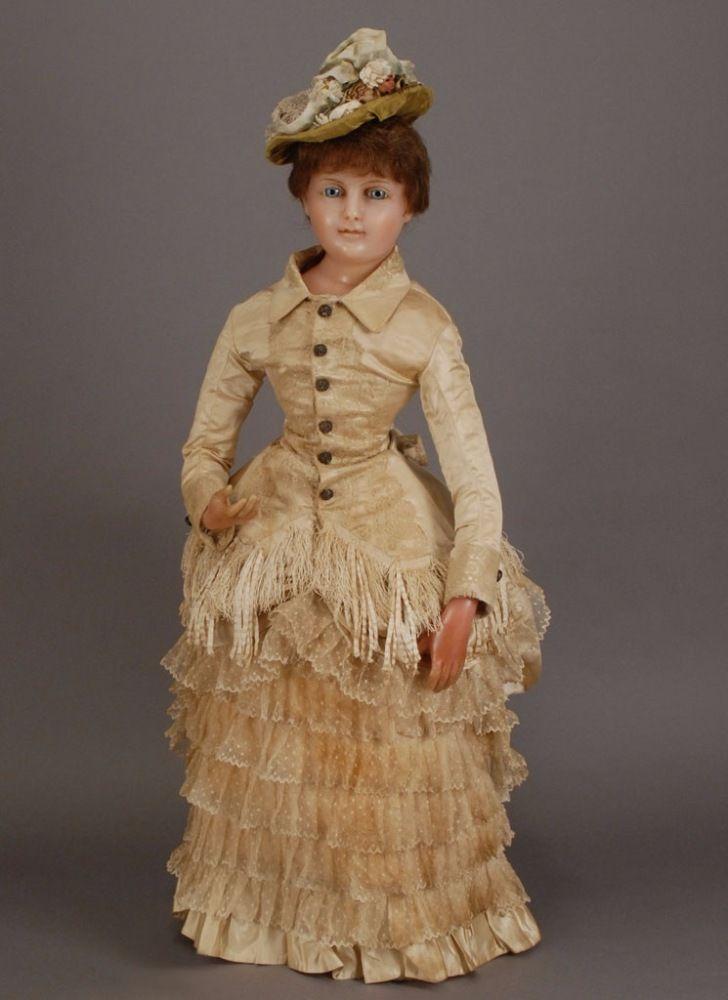 """Как воск растопил мое сердце или Мое """"ВОСКОВОЕ НАСЛЕДИЕ"""" / Cuno & Otto Dressel, антикварные куклы / Бэйбики. Куклы фото. Одежда для кукол"""