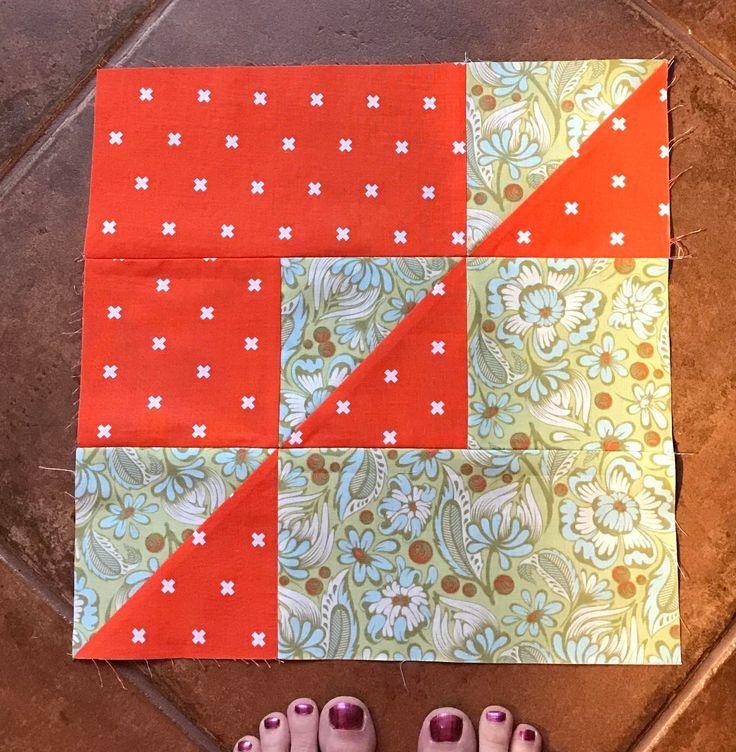 30 Quilt Blocks In 30 Days Block 16 Patchwork Und Quilten Patchwork Ideen Patchworkmuster