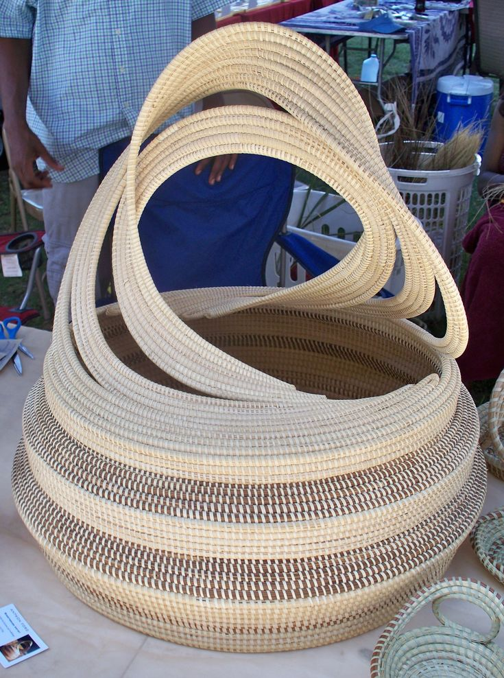 How To Weave A Sweetgrass Basket : Best images about gullah traditions history on