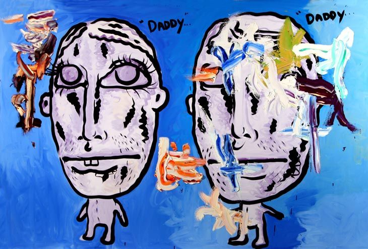 Untitled (Daddy...Daddy...) by Bjarne Melgaard