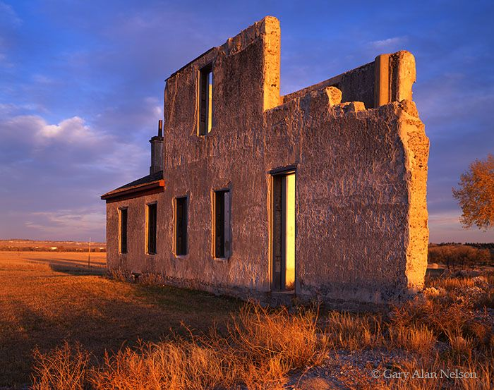 historic wyoming   Fort Laramie National Historic Site, Wyoming, ruins, photo