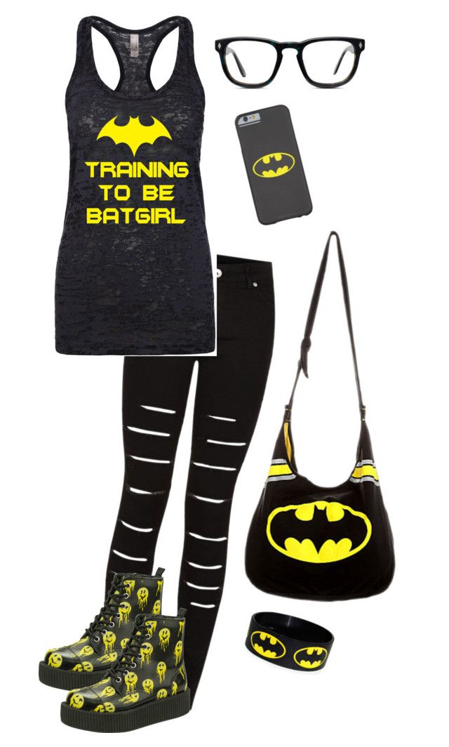 """Batgirl"" by dark-but-beautiful on Polyvore"