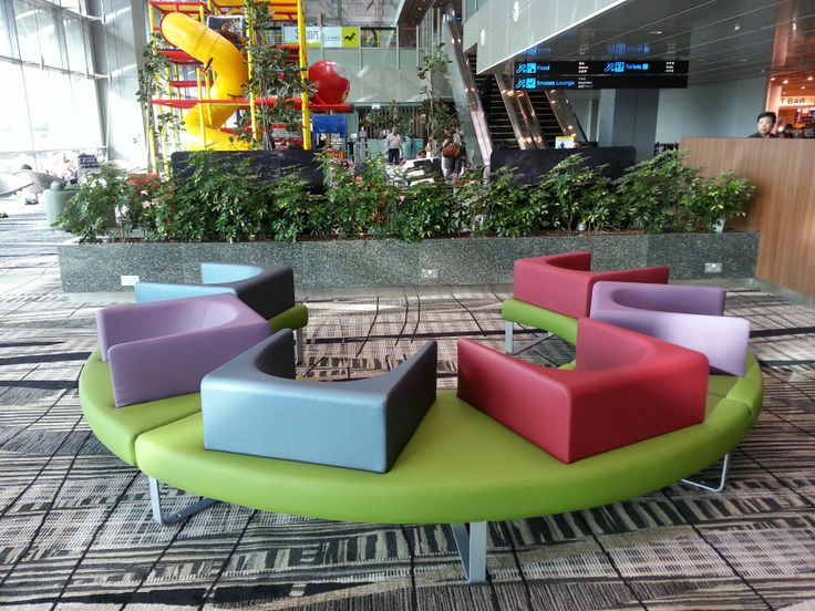 Ianus chairs,  Changi Airport - Singapore