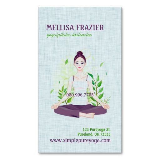 295 best yoga instructor business cards images on pinterest 295 best yoga instructor business cards images on pinterest business card design templates business card templates and carte de visite reheart Image collections