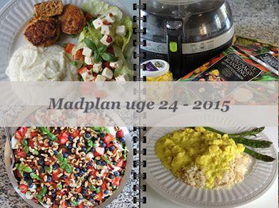 CDJetteDC's LCHF: MADPLAN uge 24 - 2015