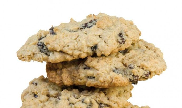 Sunnere havre- og sjokoladecookies