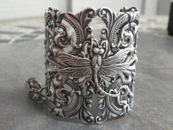 silver dragonfly cuff - i sooooo NEED/WANT this!!!