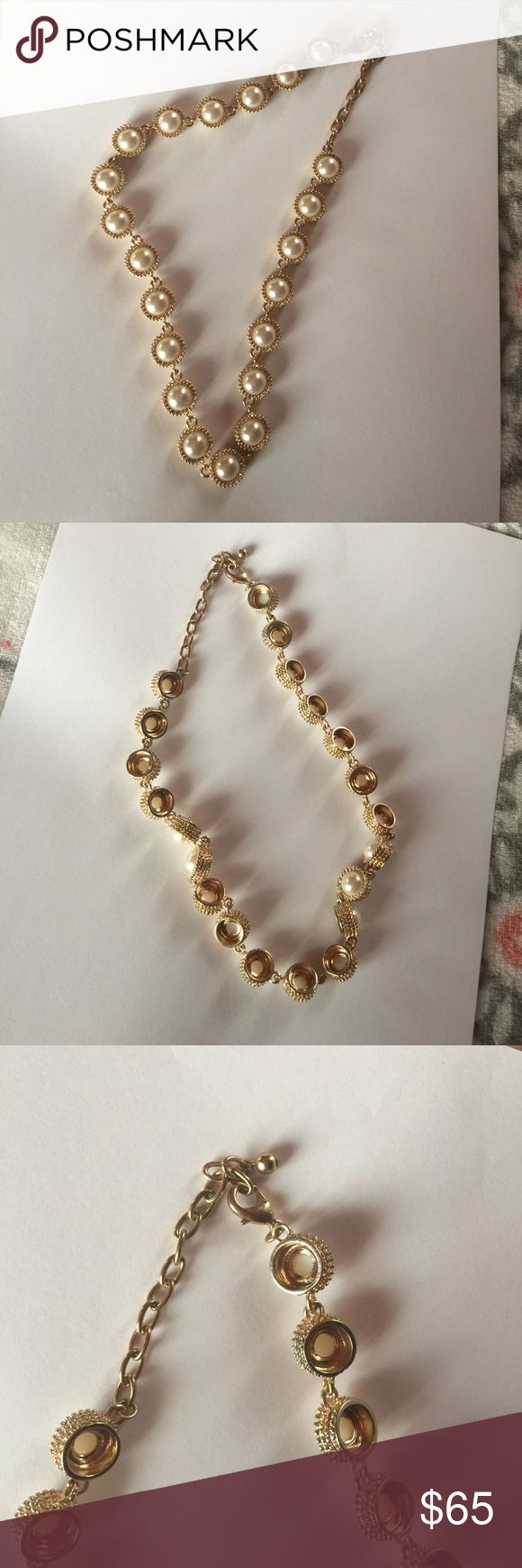 Pandora bracelet dillards - Faux Pearl Necklace From Dillards Nwt