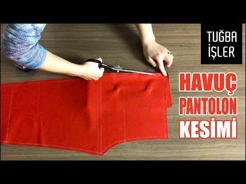 Pratik Havuç Pantolon Kesimi (KENDİN YAP) | Tuğba İşler – YouTube