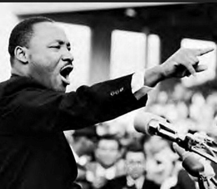 Martin Luther King. Activista del movimiento por los derechos civiles en Estados Unidos por los afroamericanos