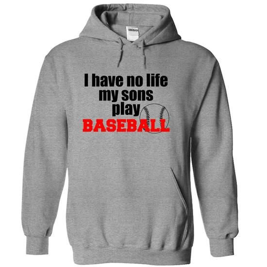 i have no life, my son play baseball - Hot Trend T-shirts