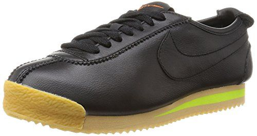 Nike Womens Wmns Cortez 72 BLACKBLACKBALSAGUM YELLOW 9 US ** Learn more by visiting the image link.(This is an Amazon affiliate link)
