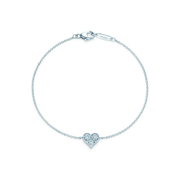 ティファニー センチメンタル ブレスレット(スモール)ダイヤモンド プラチナ