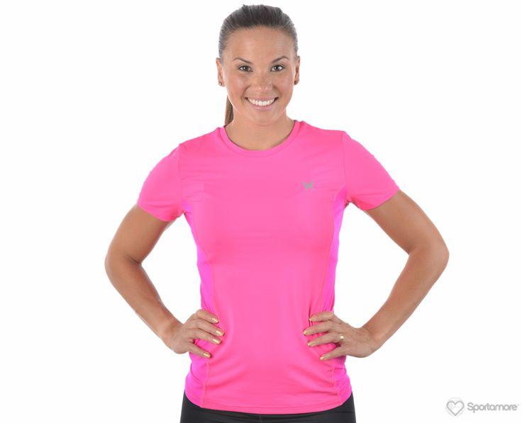 Kari Traa - Myrblå Tee - T-shirts - Rosa - Dam   www.sportamore.se   Sportamore.se - Kläder Träning & Gym
