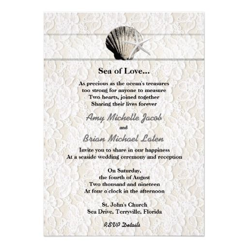 Thanks For Wedding Invitation Quotes: 266 Best Images About Beach Themed Thank You Card On Pinterest