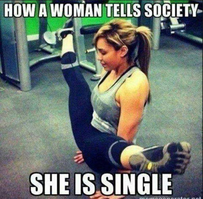 Single woman meme