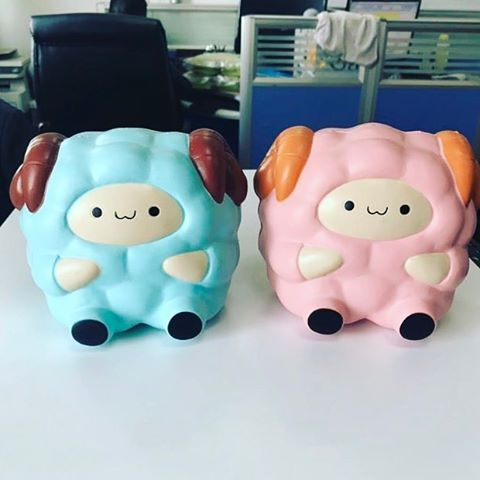 "3,046 Likes, 53 Comments - Singapore Squishy Store (@onlysweetcafe) on Instagram: ""Pink pop pop sheep coming this week :) Blue will release 2 weeks later~ accepting wholesales now wa…"""