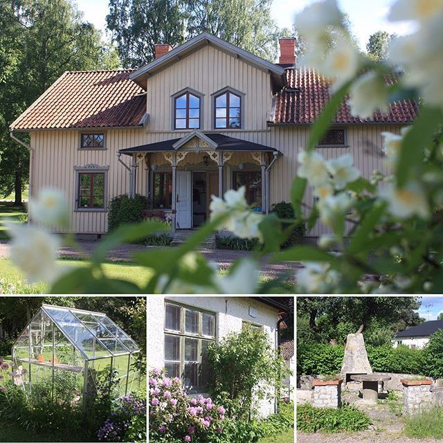 Idag har vi bott i huset i 4 månader  #villavarnhem #minplatspåjorden #myhome #myhouse #gamlahus #sekelskifte #sekelskifteshus #oldhouse #livetpålandet #lantliv #svenskahem #scandinavianhome #nordiskahem #nordichome #finahus #beautifulhouse #myplace #house #hus #drömhus #swedishhouse #houseinspo #exterior #snickarglädje #yellow #gult #gultärintefult #yellowhouse #gulthus