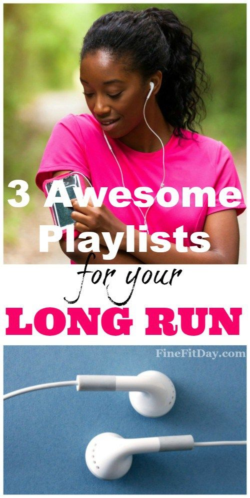 Looking for some awesome running playlists for your long run? Here are 3 playlists, 2 hours each, to try out the next time you're running - just try not to break out dancing.