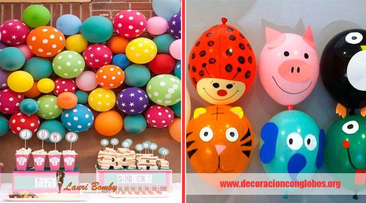 17 best ideas about adornos de globos on pinterest un - Globos de cumpleanos ...