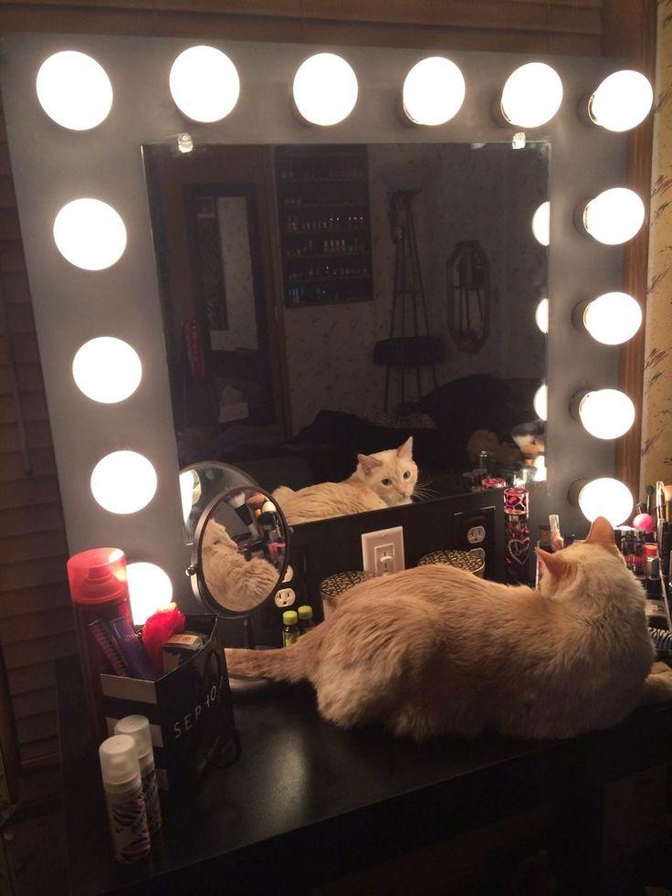 25 best ideas about diy vanity mirror on pinterest vanity makeup rooms diy makeup vanity and. Black Bedroom Furniture Sets. Home Design Ideas