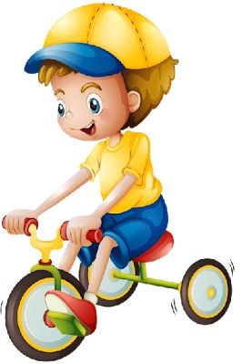 Boy On Bicycle - Cute Baby Images