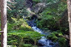 Ook een klein watervalletje