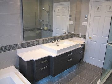 Home renovation 1950s bathroom and complete bathrooms on for Bathroom remodel for 4000