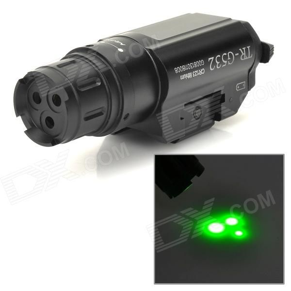 Three Point Green Laser Gun Aiming Sight w/ Pressure Switch Price: $155.40